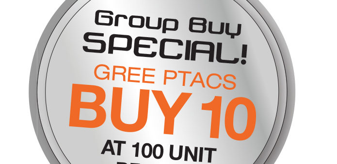 GREE PTAC Group Purchase Special