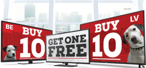 "Buy 10 Any Size RCA TVs, Get 1 Free - Buy 8 Non-Pro:Idoim 40"", Get 1 Free"