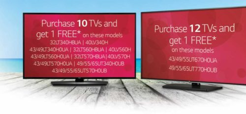 2019 End of Year LG Special - Buy10 or Buy 12, Get 1 Free
