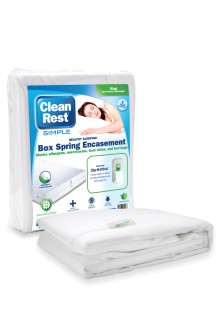 CleanBrands free samples on mattress and boxspring covers!