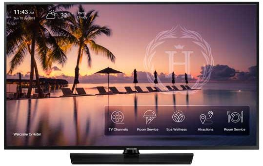 3 Samsung Hospitality TV Specials through the end of 2019