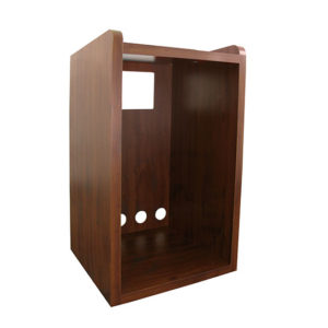 Tatung KDRC 48 dark cherry micro fridge cabinet